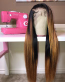 Ulovewigs Human Virgin Hair Pre Plucked Lace Front Wig  Free Shipping (ULW0391)