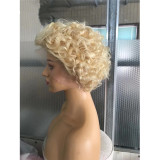 Ulovewigs Human Virgin Hair Pre Plucked Lace Front Wig And Full Lace Wig Free Shipping (ULW0394)