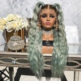 Ulovewigs Human Virgin Hair Pre Plucked Lace Front Wig  Free Shipping (ULW0404)
