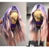 Ulovewigs Human Virgin Hair Pre Plucked Lace Front Wig  Free Shipping (ULW0402)