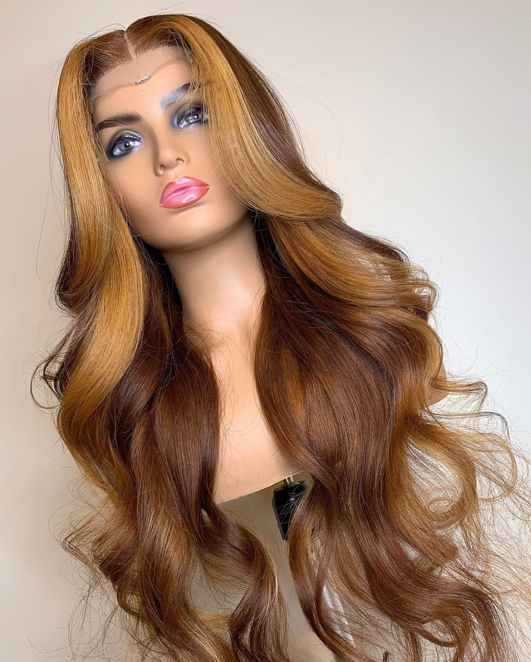 Ulovewigs Human Virgin Hair Pre Plucked Lace Front Wig And Full Lace Wig Free Shipping (ULW0418)