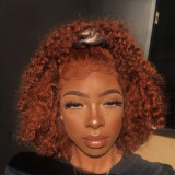 Ulovewigs Human Virgin Hair Pre Plucked Lace Front Wig  Free Shipping (ULW0420)