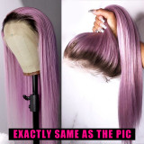 Ulovewigs Human Virgin Hair Pre Plucked Lace Front Wig  Free Shipping (ULW0423)