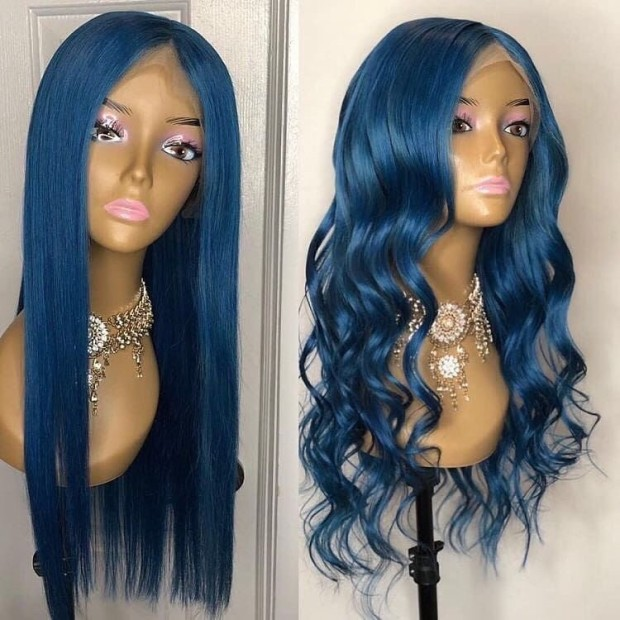 Ulovewigs Human Virgin Hair Pre Plucked Lace Front Wig And Full Lace Wig Free Shipping (ULW0425)