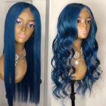 Ulovewigs Human Virgin Hair Pre Plucked Lace Front Wig And Full Lace Wig 5x5 lace wig Free Shipping (ULW0425)