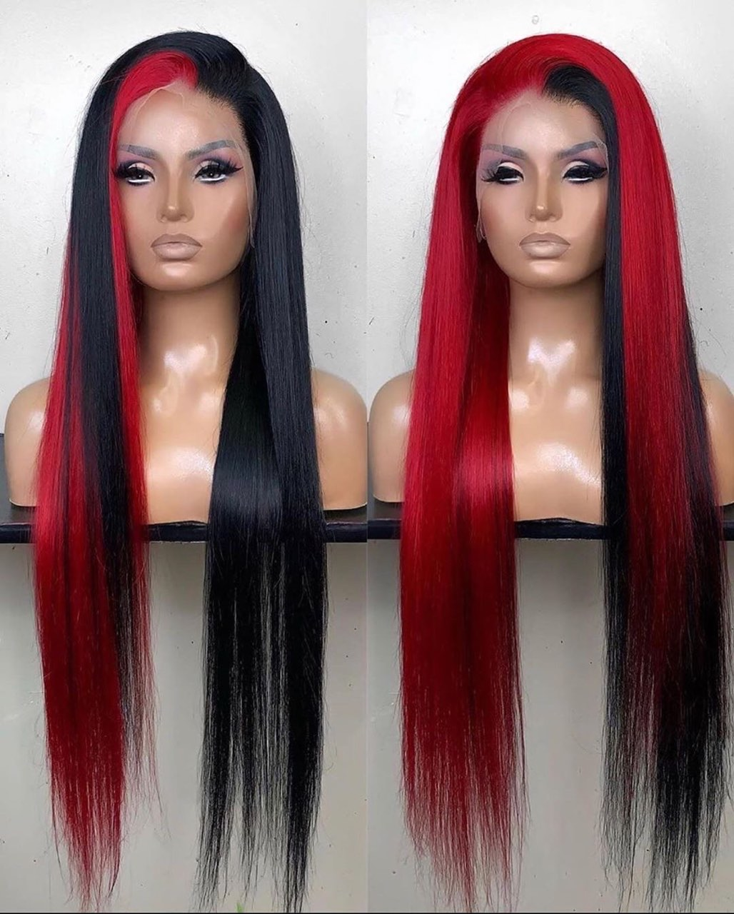 Ulovewigs Human Virgin Hair Pre Plucked Lace Front Wig And Full Lace Wig 5x5 lace wig Free Shipping (ULW0429)