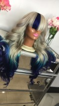 Ulovewigs Human Virgin Hair Pre Plucked Lace Front Wig  Free Shipping (ULW0428)