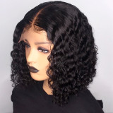 Ulovewigs Human Virgin Hair Pre Plucked Lace Front Wig  Free Shipping (ULW0434)