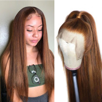Ulovewigs Human Virgin Hair Pre Plucked Lace Front Wig And Full Lace Wig Free Shipping (ULW0435)