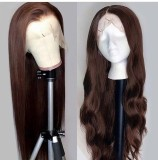 Ulovewigs Human Virgin Hair Pre Plucked Lace Front Wig  Free Shipping (ULW0438)