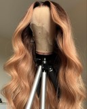 Ulovewigs Human Virgin Hair Pre Plucked Lace Front Wig Free Shipping (ULW0441)