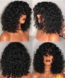 Ulovewigs Human Virgin Hair Pre Plucked Lace Front Wig   Free Shipping (ULW0447)