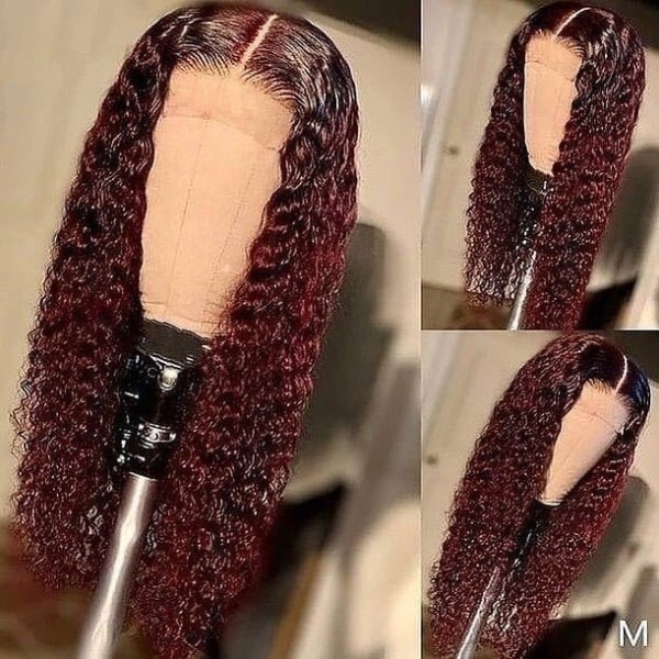 Ulovewigs Human Virgin Hair Pre Plucked Lace Front Wig  Free Shipping (ULW0451)
