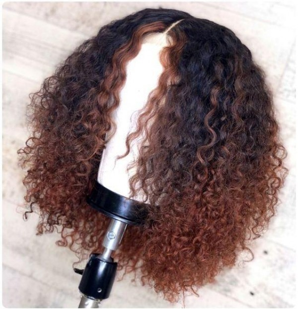 Ulovewigs Human Virgin Hair Pre Plucked Lace Front Wig  Free Shipping (ULW0455)