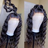 Ulovewigs Human Virgin Hair Pre Plucked Lace Front Wig Wig Free Shipping (ULW0460)
