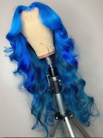 Ulovewigs Human Virgin Hair Pre Plucked Lace Front Wig  Free Shipping (ULW0462)