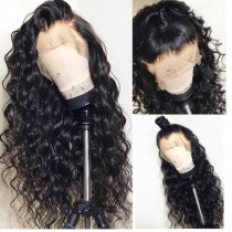 Ulovewigs Human Virgin Hair Pre Plucked HD Swiss Transparent Lace Front Wig And Full Lace Wig Free Shipping (ULW0471)