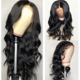 Ulovewigs Human Virgin Hair Pre Plucked HD Swiss Transparent Lace Front Wig And Full Lace Wig Free Shipping (ULW0474)