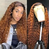 Ulovewigs Human Virgin Hair Pre Plucked HD Swiss Transparent Lace Front Wig And Full Lace Wig Free Shipping (ULW0472)