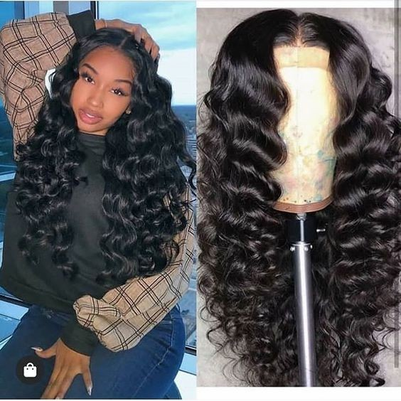 Ulovewigs Human Virgin Hair Pre Plucked HD Swiss Transparent Lace Front Wig And Full Lace Wig Free Shipping (ULW0475)
