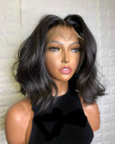 Ulovewigs Human Virgin Hair  Pre Plucked Lace Front Wig   Free Shipping (ULW0489)