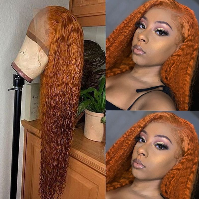 Ulovewigs Human Virgin Hair Pre Plucked Lace Front Wig And Full Lace Wig  Free Shipping (ULW0484)