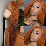 Ulovewigs Human Virgin Hair Pre Plucked Lace Front Wig  Free Shipping (ULW0484)