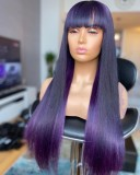 Ulovewigs Human Virgin Hair Pre Plucked Lace Front Wig Free Shipping (ULW0493)