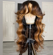 Ulovewigs Human Virgin Hair Pre Plucked Lace Front Wig And Full Lace Wig Free Shipping (ULW0492)
