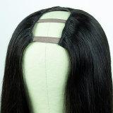 Ulovewigs Human Virgin Hair Pre Plucked U Part Wig Free Shipping (ULW0518)