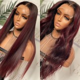 Ulovewigs Human Virgin Hair Pre Plucked Lace Front Wig  Free Shipping (ULW0312)