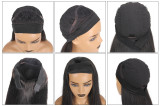 Ulovewigs Straight Wigs with Headbands for  Women Human Hair Wigs Free Shipping (ULW0523)