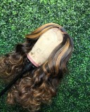 Ulovewigs Human Virgin Hair Pre Plucked Lace Front Wig  Free Shipping (ULW0387)