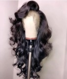 Ulovewigs Human Virgin Hair  Pre Plucked Lace Front Wig  Free Shipping (ULW0530)