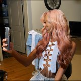Ulovewigs Human Virgin Hair  Pre Plucked Lace Front Wig And Full Lace Wig Free Shipping (ULW0113)