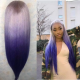 Ulovewigs Human Virgin Hair Pre Plucked Lace Front Wig And Full Lace Wig  Free Shipping (ULW0117)