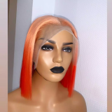 Ulovewigs Human Virgin Hair Pre Plucked Lace Front Wig And Full Lace Wig  Free Shipping (ULW0378)