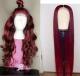 Ulovewigs Pre Plucked Human Virgin Hair 1b/99j straight wigs (ULW0012)