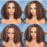 Ulovewigs Human Virgin Hair Pre Plucked Lace Front Wig  Free Shipping (ULW0514)