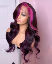 Ulovewigs Human Virgin Hair  Pre Plucked Lace Front Wig  Free Shipping (ULW0479)