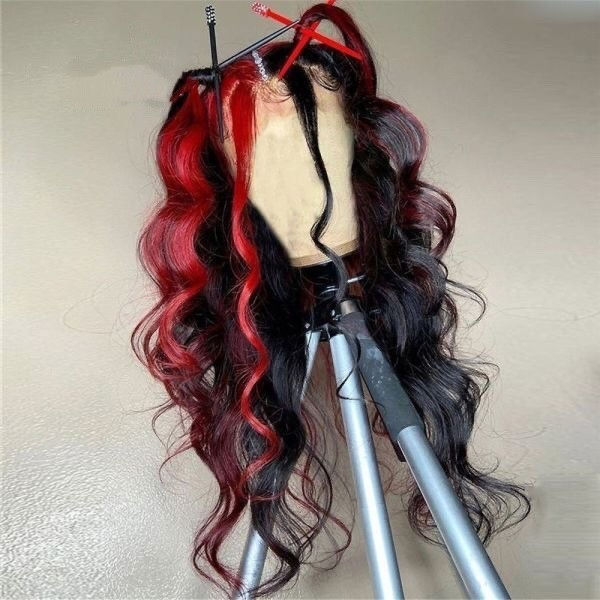 Ulovewigs Human Virgin Hair Pre Plucked Lace Front Wig  5x5 lace wig Free Shipping (ULW0543)