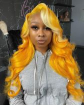 Ulovewigs Human Virgin Hair Pre Plucked Lace Front Wig And Full Lace Wig  Free Shipping (ULW0228)