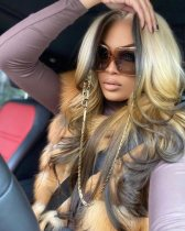 Ulovewigs Human Virgin Hair Pre Plucked Lace Front Wig And Full Lace Wig Free Shipping (ULW0296)