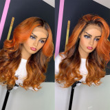 Ulovewigs Human Virgin Hair Goddess Style Pre Plucked Lace Front Wig  Free Shipping(ULW0126)
