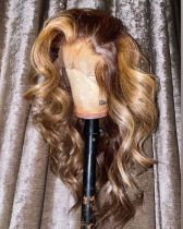Ulovewigs Human Virgin Hair Goddess Style Pre Plucked Lace Front WigFree Shipping(ULW0127)
