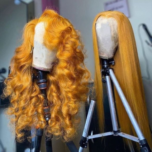 Ulovewigs Human Virgin Hair Pre Plucked Lace Front Wig And Full Lace Wig   Free Shipping (ULW0221)
