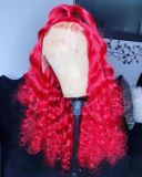 Ulovewigs Human Virgin Hair  Pre Plucked Lace Front Wig And Full Lace Wig  Free Shipping (ULW0297)