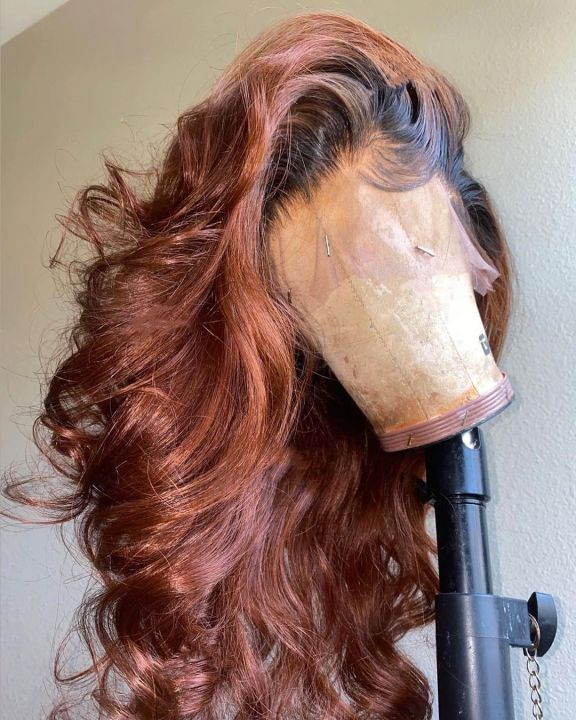 Ulovewigs Human Virgin Hair  Pre Plucked Lace Front Wig Free Shipping(ULW0121)