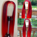 Ulovewigs Human Virgin Hair Pre Plucked Lace Front Wig  Free Shipping (ULW0339)