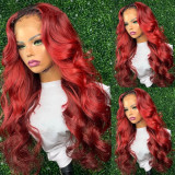 Ulovewigs Human Virgin Hair Wave Pre Plucked 13*6Lace Front Wig Free Shipping (ULW0084)
